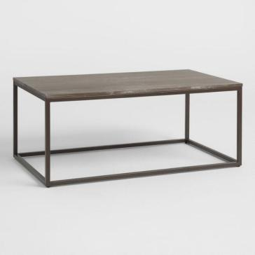 industrail farmhouse coffee table 1