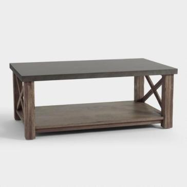 industrial farmhouse coffee table 2